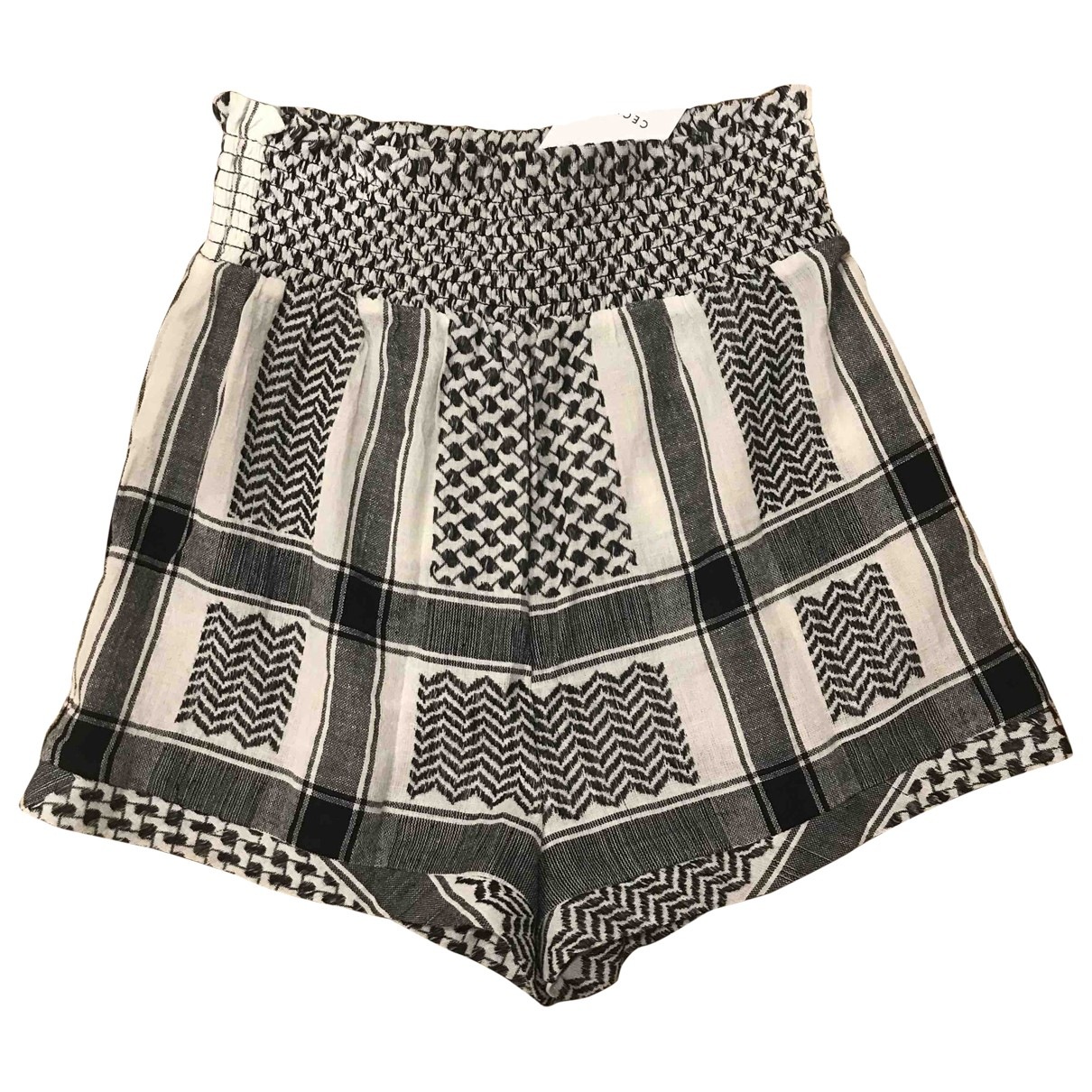 Cecilie Copenhagen \N Shorts in  Schwarz Baumwolle