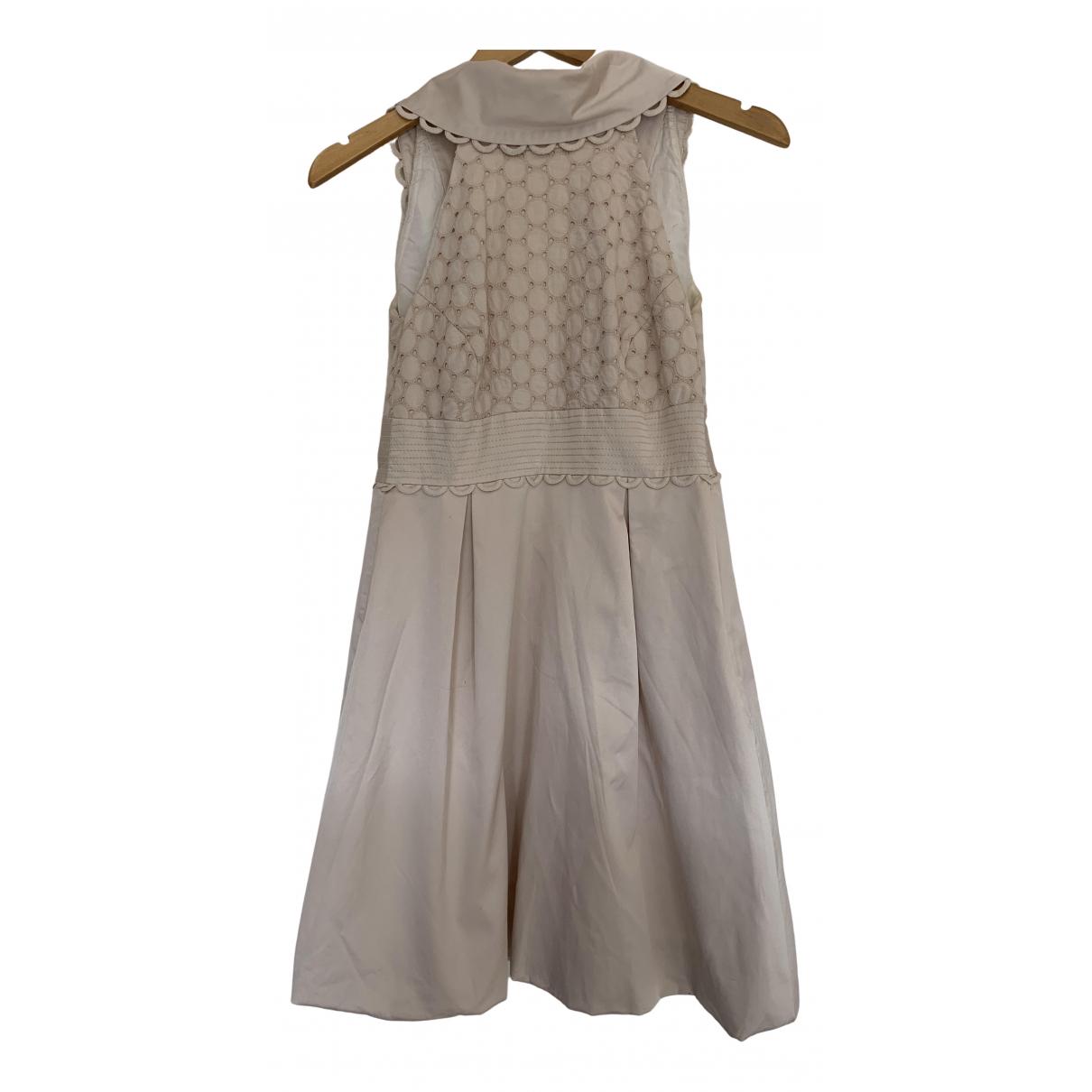 Karen Millen N Beige Cotton dress for Women 36 FR