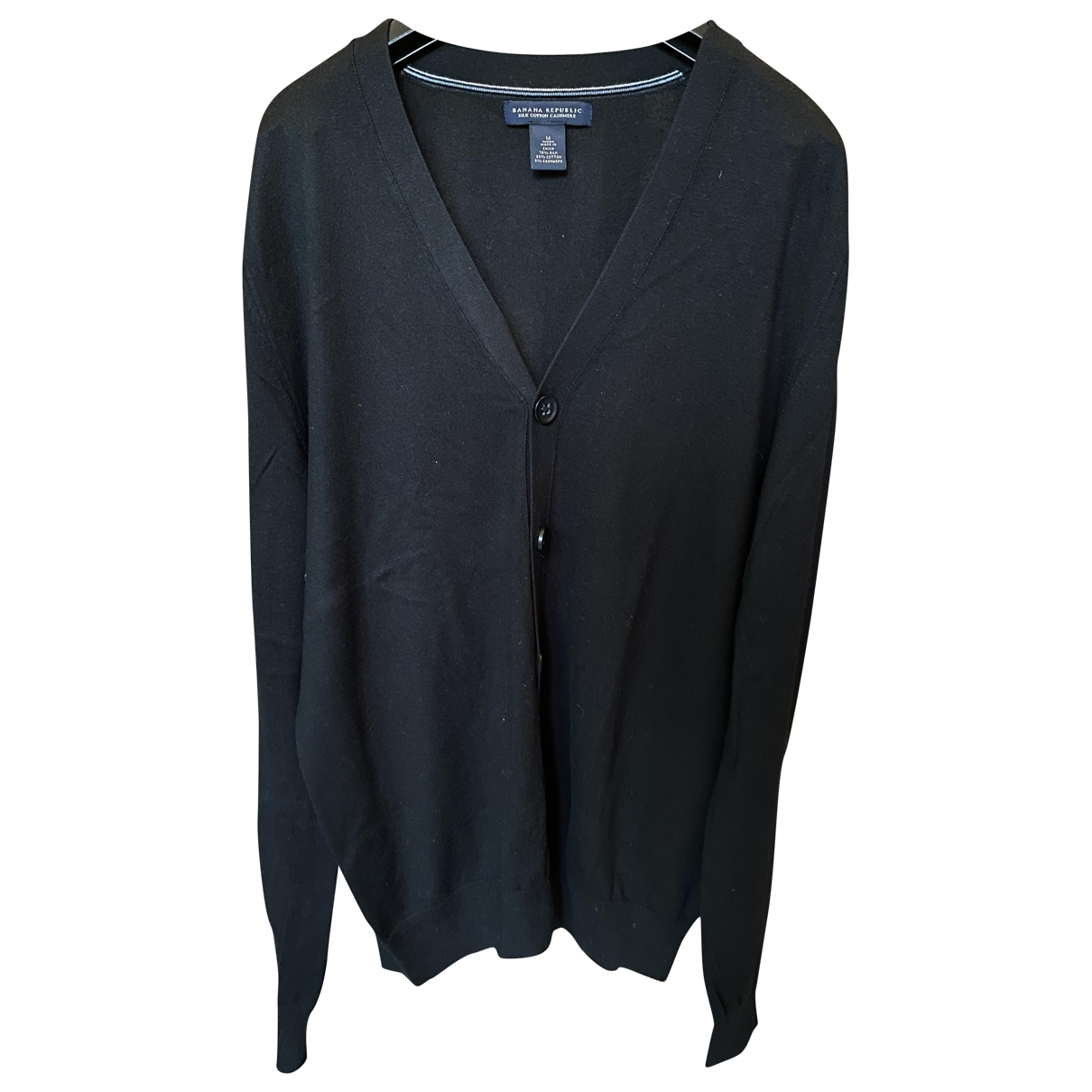 Banana Republic \N Black Silk jacket  for Men M International