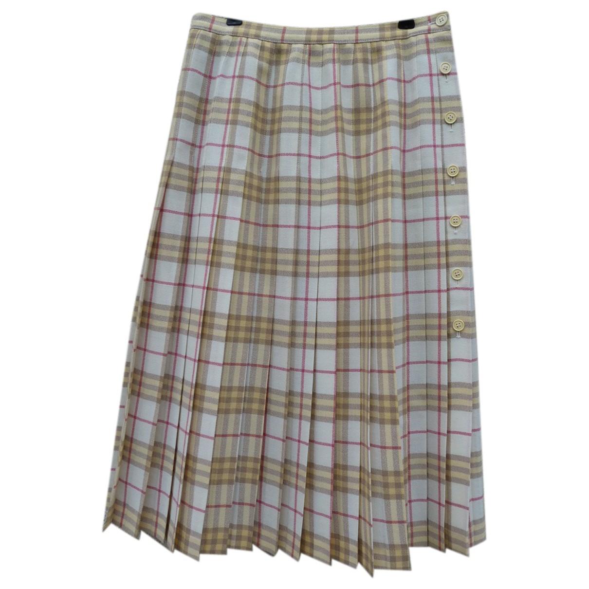 Burberry - Jupe   pour femme en laine