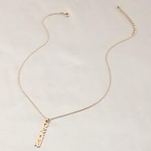 Halskette mit Konstellation Anhaenger