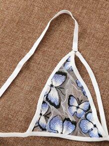 Butterfly Ladder Cut-out Lingerie Set