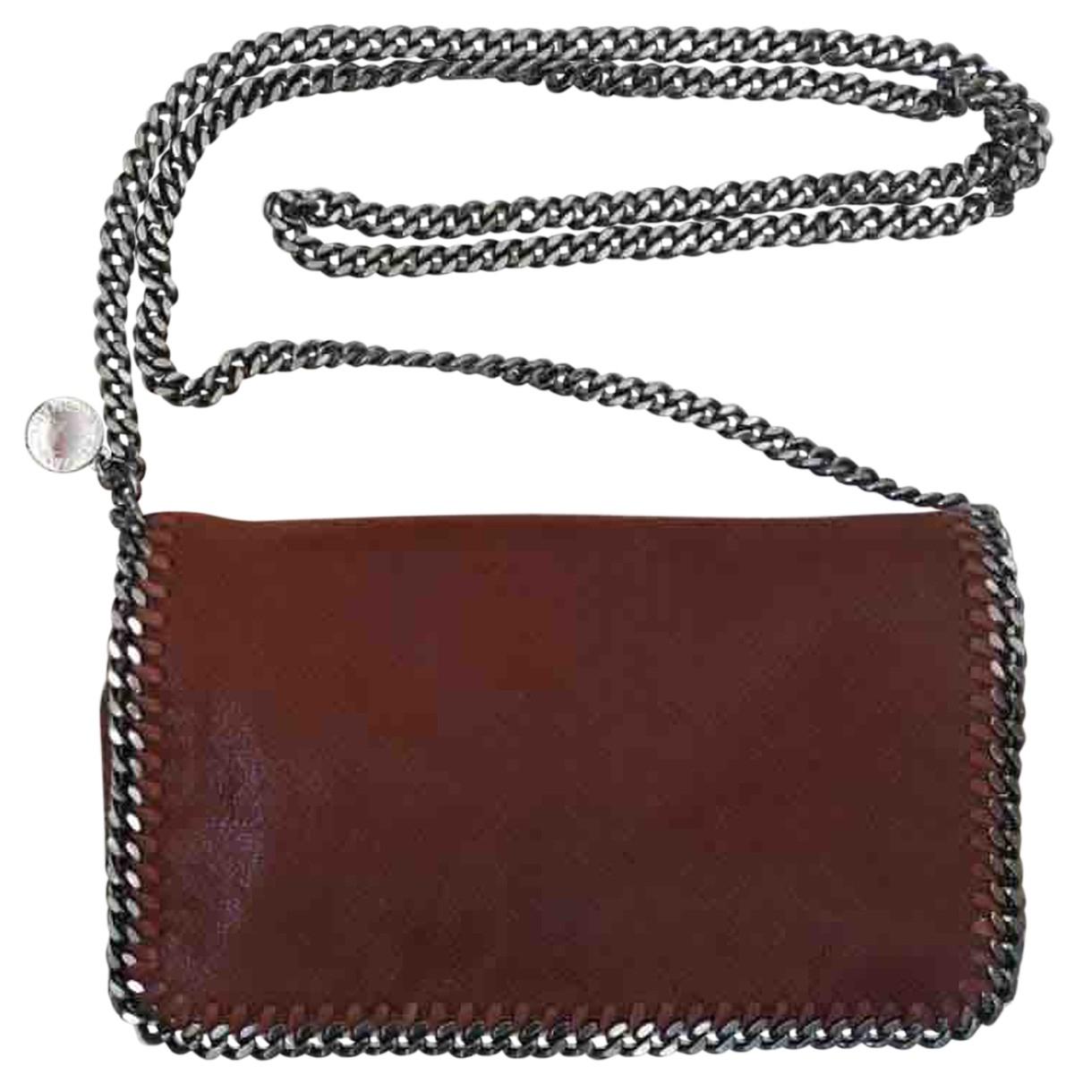 Stella Mccartney Falabella Brown Clutch bag for Women N