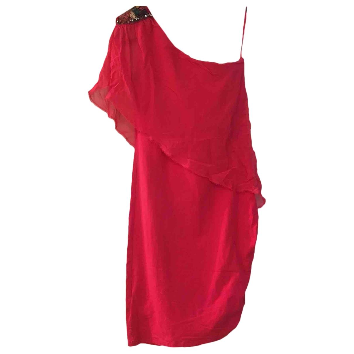 Patrizia Pepe \N Kleid in  Rosa Baumwolle - Elasthan