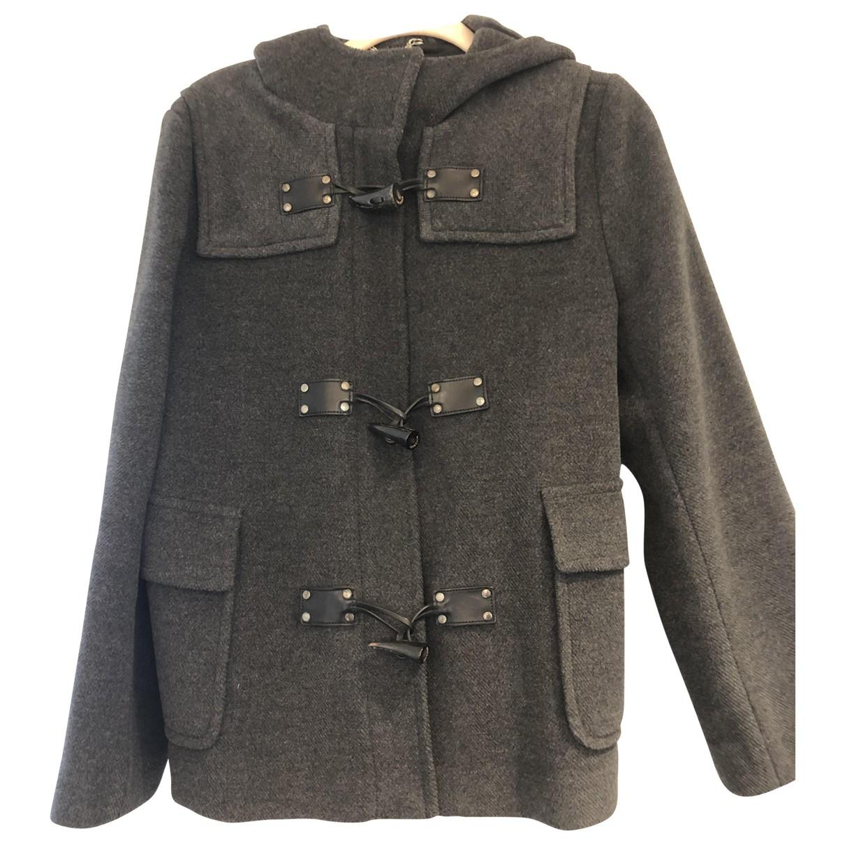 Burberry \N Grey Wool coat for Women 42 FR