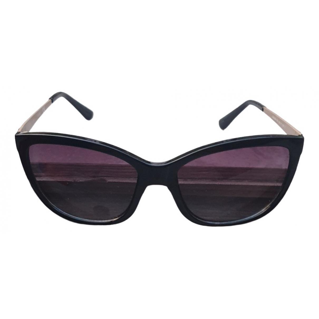 Guess \N Black Metal Sunglasses for Women \N