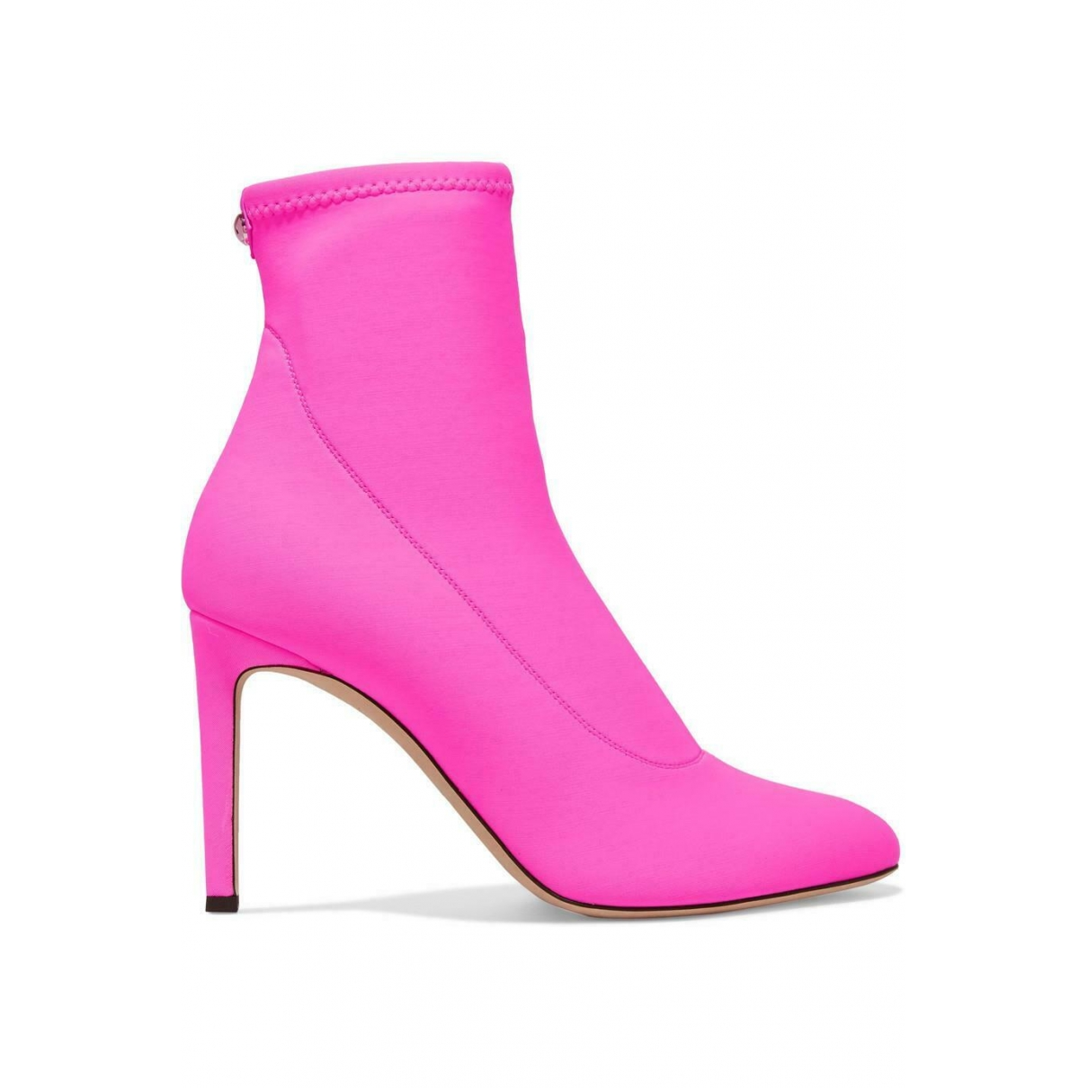 Giuseppe Zanotti \N Pink Cloth Ankle boots for Women 38 EU