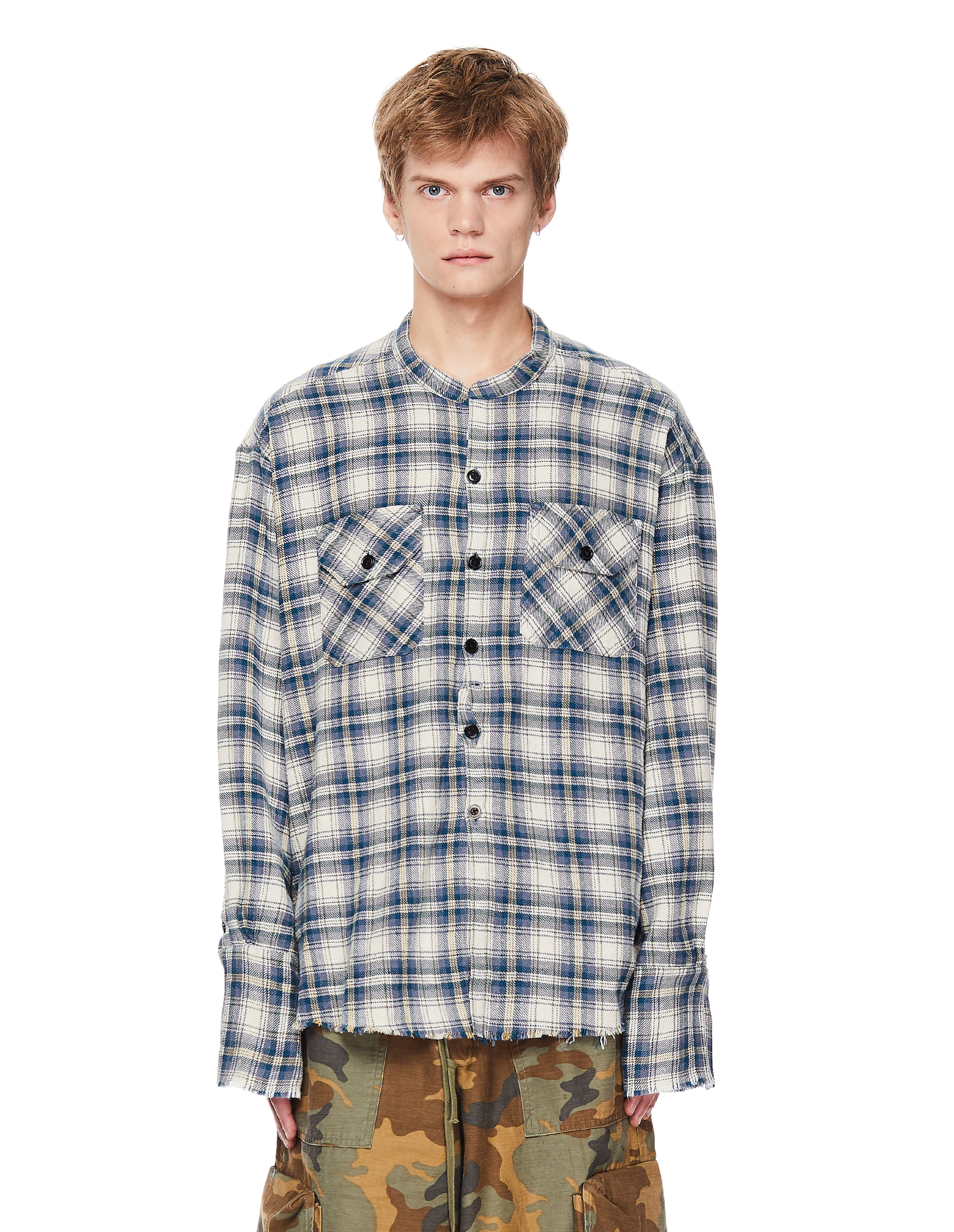 Greg Lauren Cotton Studio Shirt