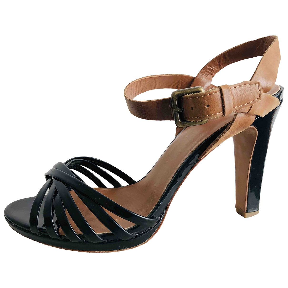 Ash \N Black Leather Heels for Women 41 EU