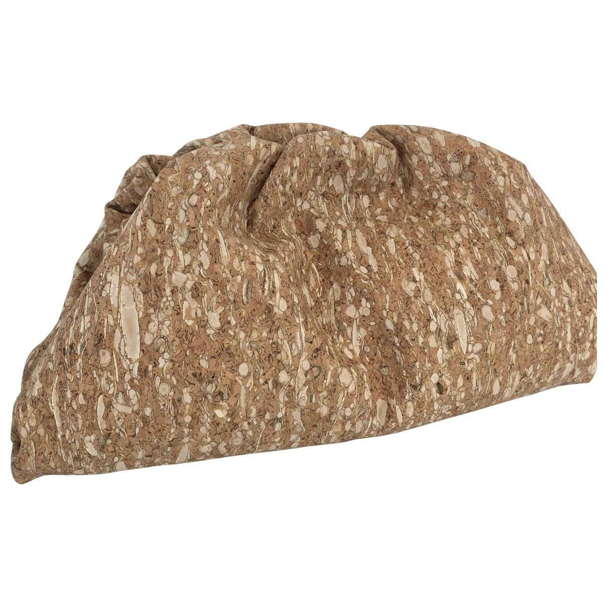 Bottega Veneta Pouch Beige Cloth Clutch bag for Women \N