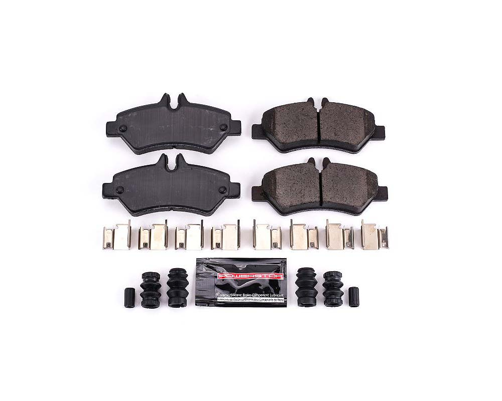 Power Stop Z23-1317 Z23 Evolution Sport Brake Pads w/Hardware Rear Dodge Sprinter 2500 2007-2009