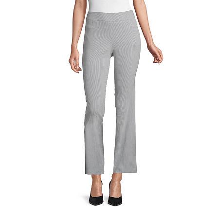 Liz Claiborne Millennium Pull On Pant - Tall, 12 Tall , Blue