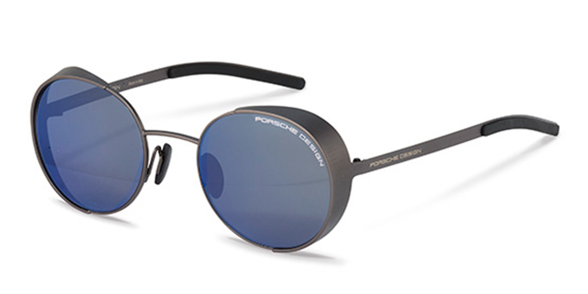 Porsche Design P8674 B Mens Sunglasses Grey Size 50
