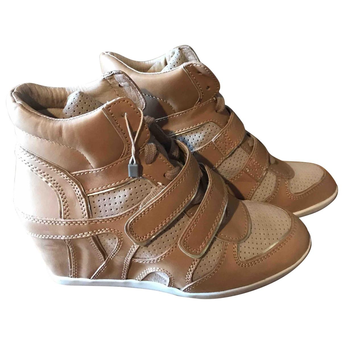 Ash \N Sneakers in  Kamel Leder