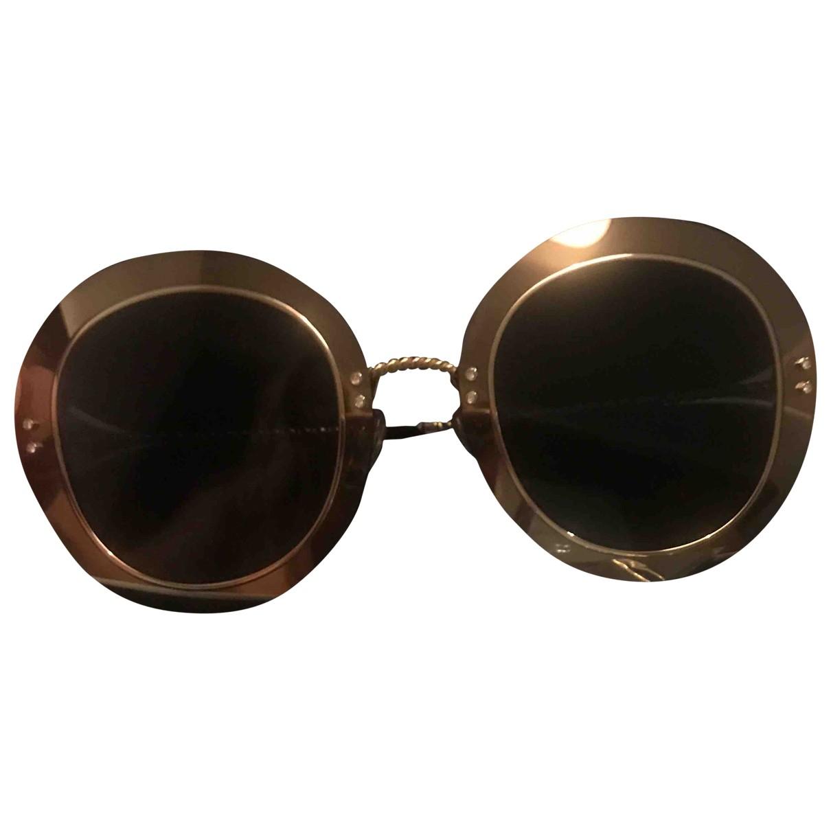 Marc Jacobs \N Grey Metal Sunglasses for Women \N
