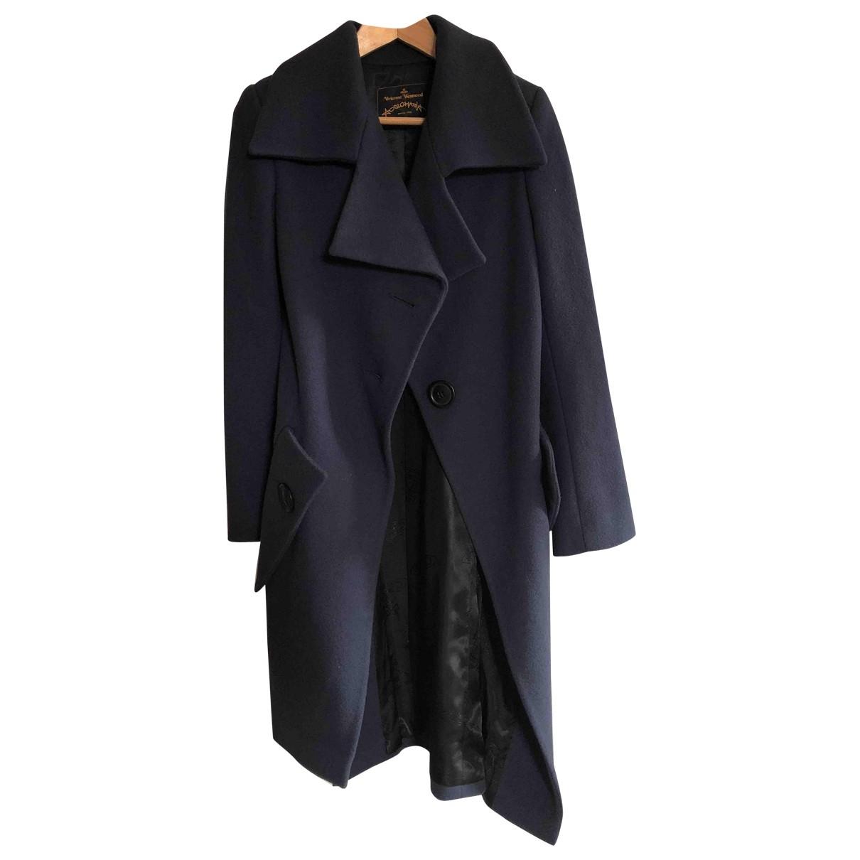 Vivienne Westwood - Manteau   pour femme en laine - violet