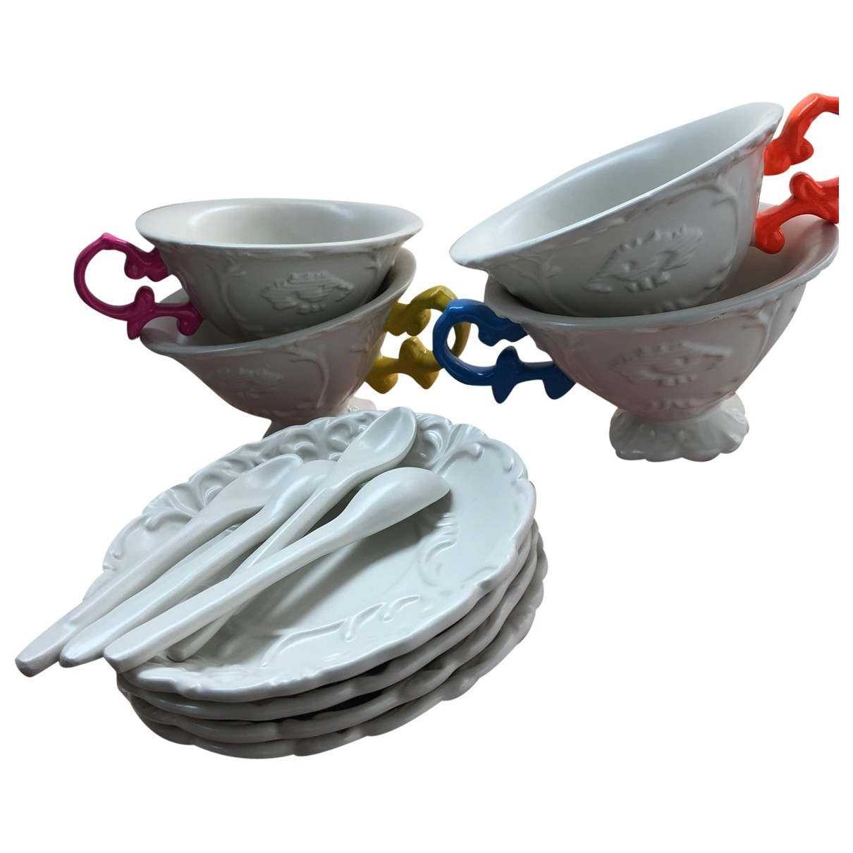 Juego de te/cafe de Ceramica Seletti