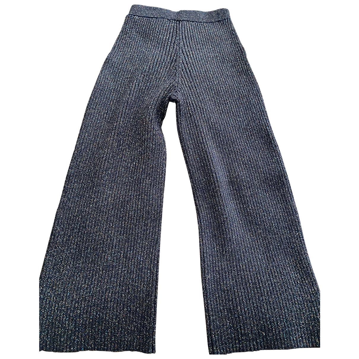Kenzo \N Metallic Trousers for Women XS International