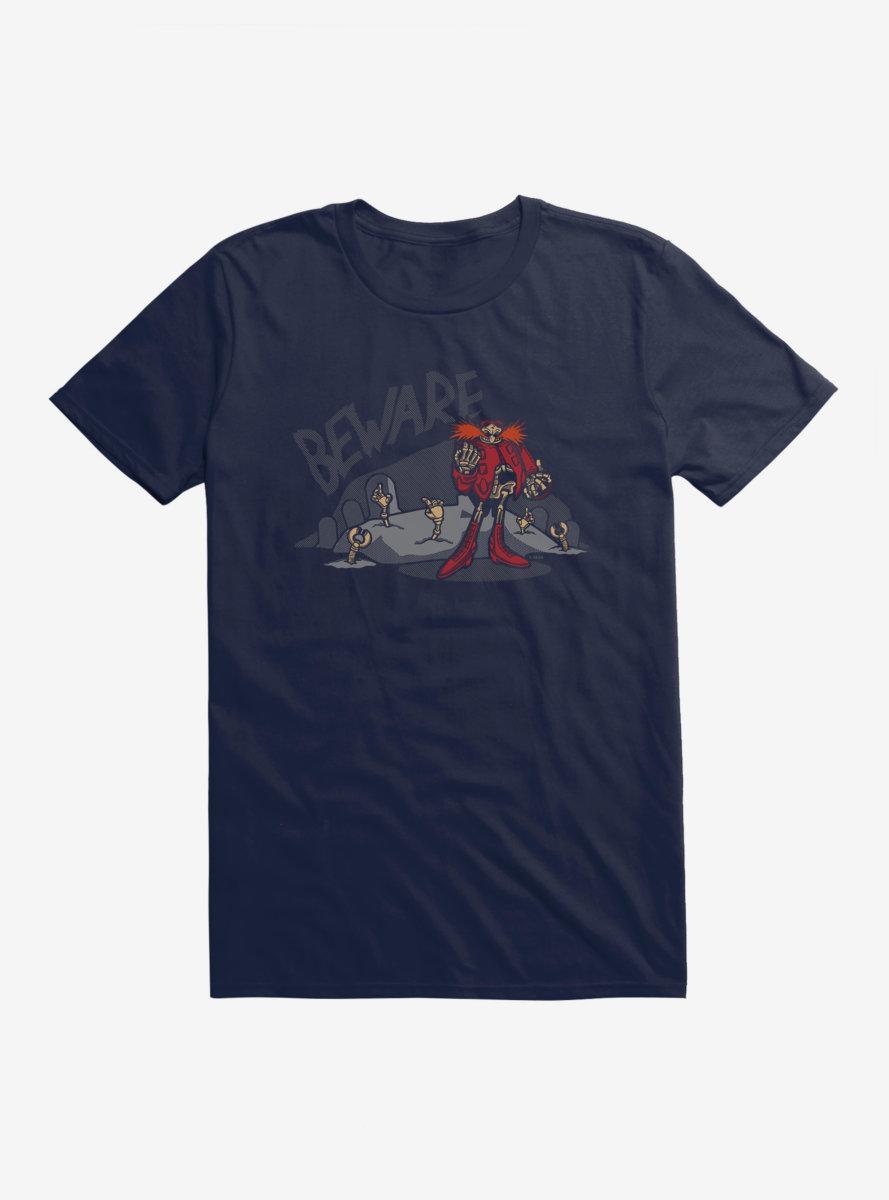 Sonic The Hedgehog Halloween Beware T-Shirt