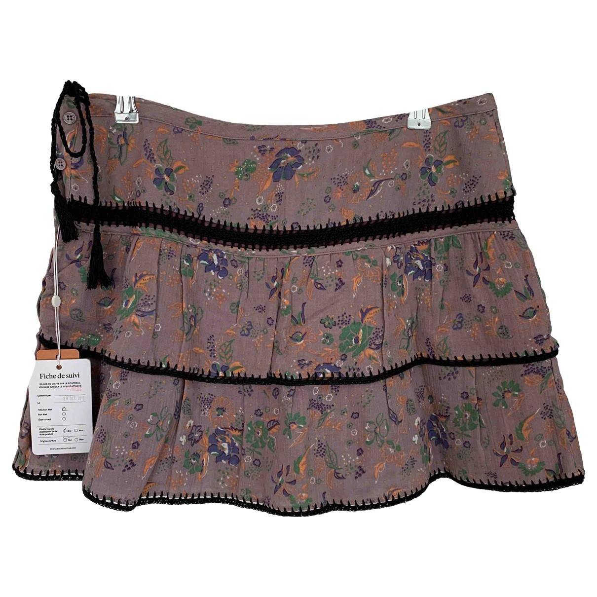 Zadig & Voltaire - Jupe   pour femme en coton - violet