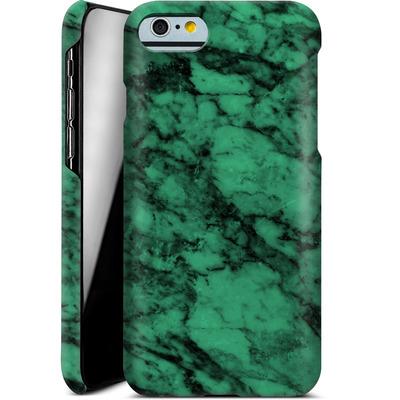 Apple iPhone 6s Smartphone Huelle - Green Marble von caseable Designs