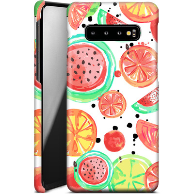 Samsung Galaxy S10 Plus Smartphone Huelle - Fruit Crush von Mukta Lata Barua