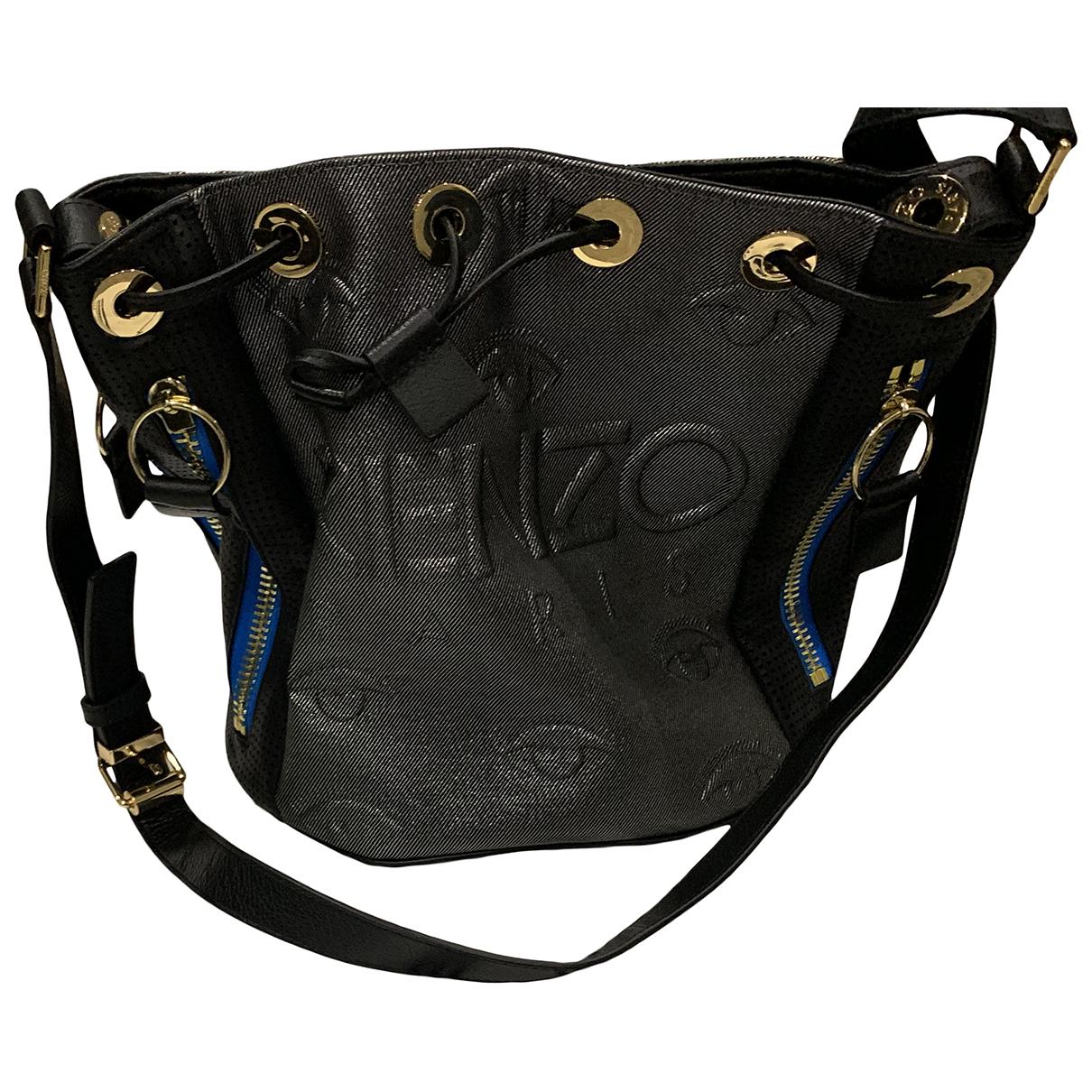 Kenzo \N Handtasche in  Silber Leder