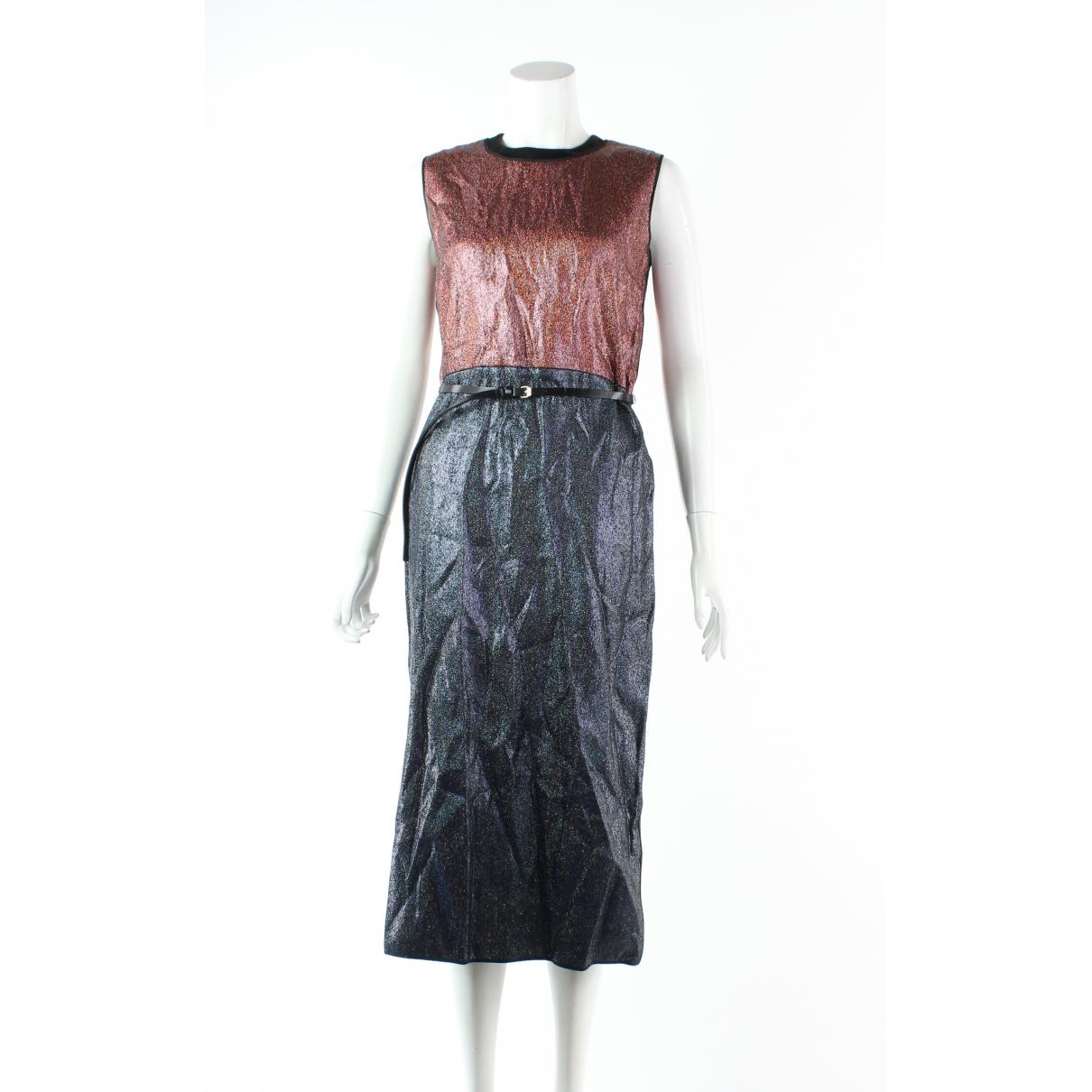 Victoria, Victoria Beckham N Multicolour Wool dress for Women 8 UK