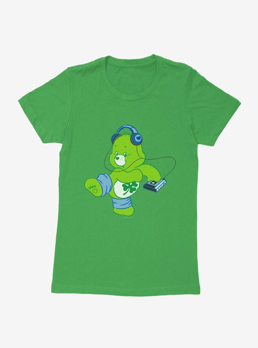 Care Bears Good Luck Bear Dance Womens T-Shirt