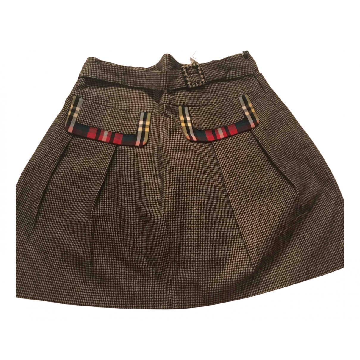 Simonetta \N Black Cotton skirt for Kids 4 years - up to 102cm FR