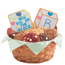 Baby Blocks Gluten Free Cookie Basket