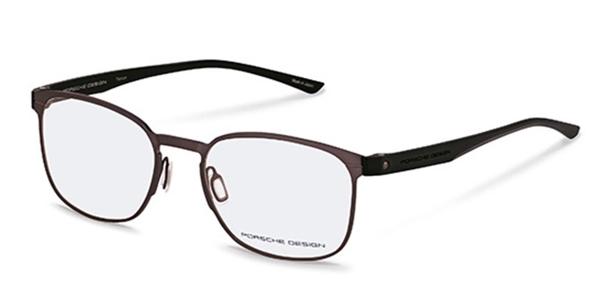 Porsche Design P8353 C Men's Glasses Brown Size 54 - Free Lenses - HSA/FSA Insurance - Blue Light Block Available