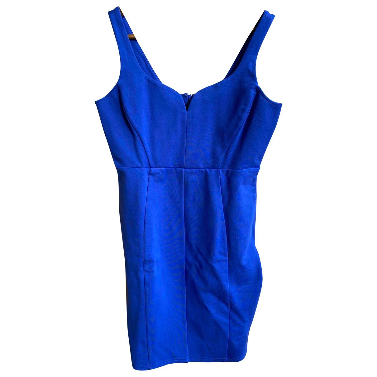 Guess \N Kleid in  Blau Baumwolle - Elasthan