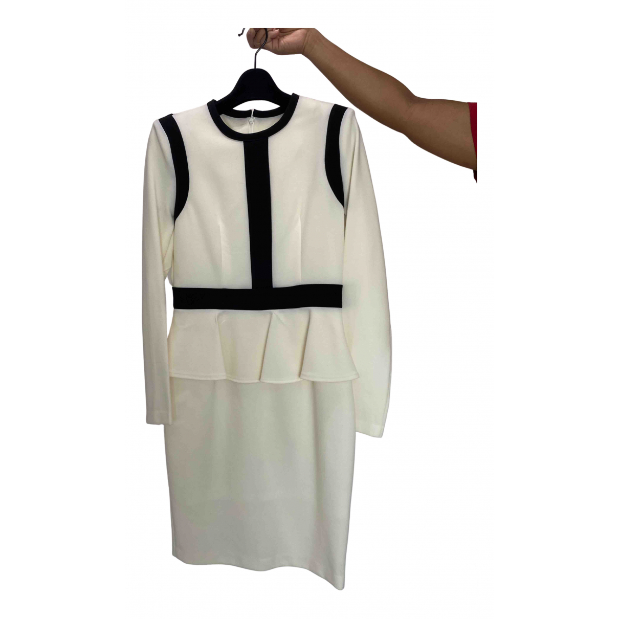 Non Signe / Unsigned \N Kleid in  Beige Polyester