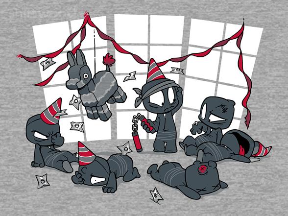 Unstealthiest Ninja: Party Time Remix T Shirt