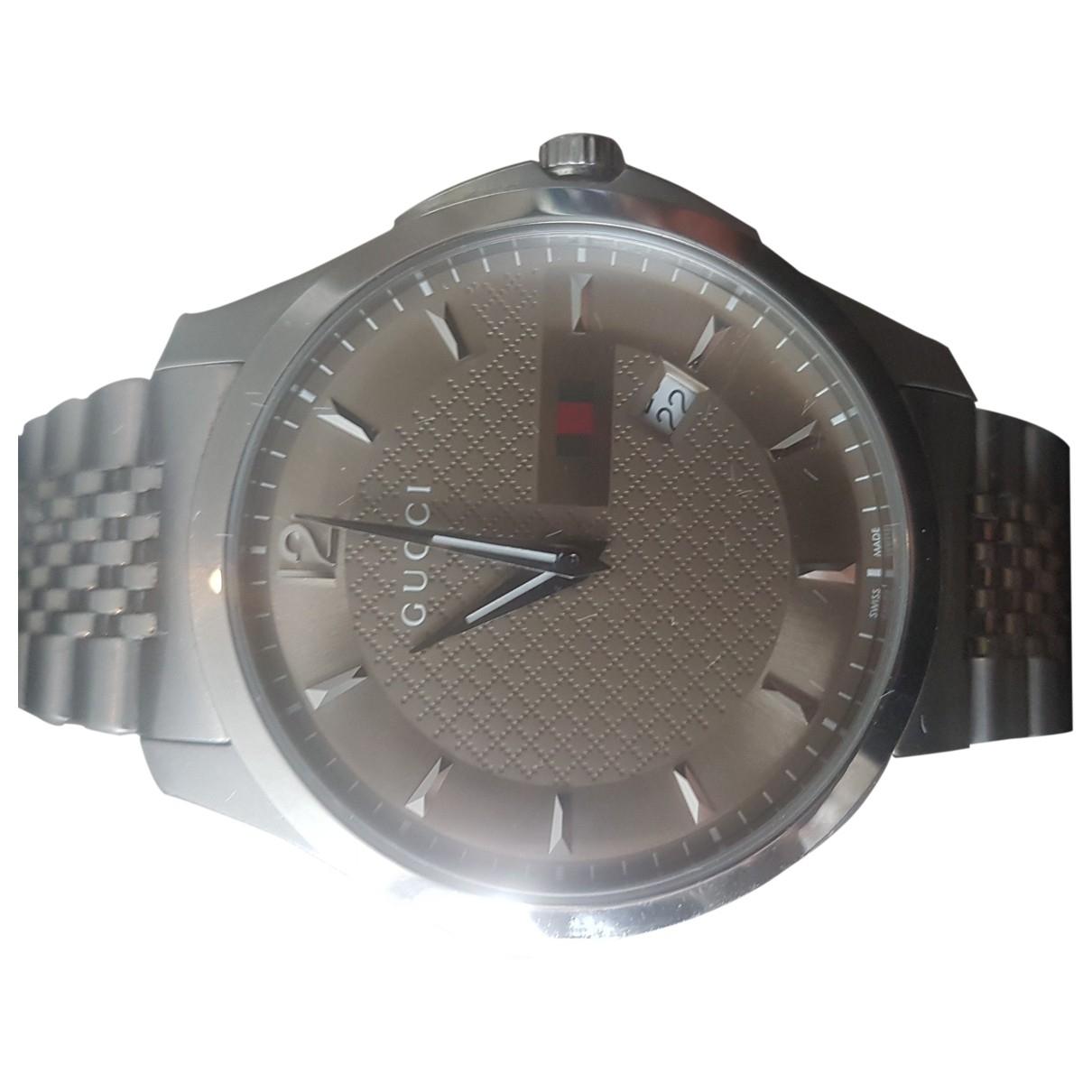 Relojes G-Chrono de Plata Gucci