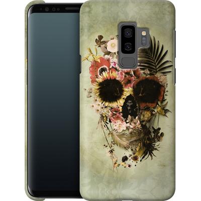 Samsung Galaxy S9 Plus Smartphone Huelle - Garden Skull Light von Ali Gulec