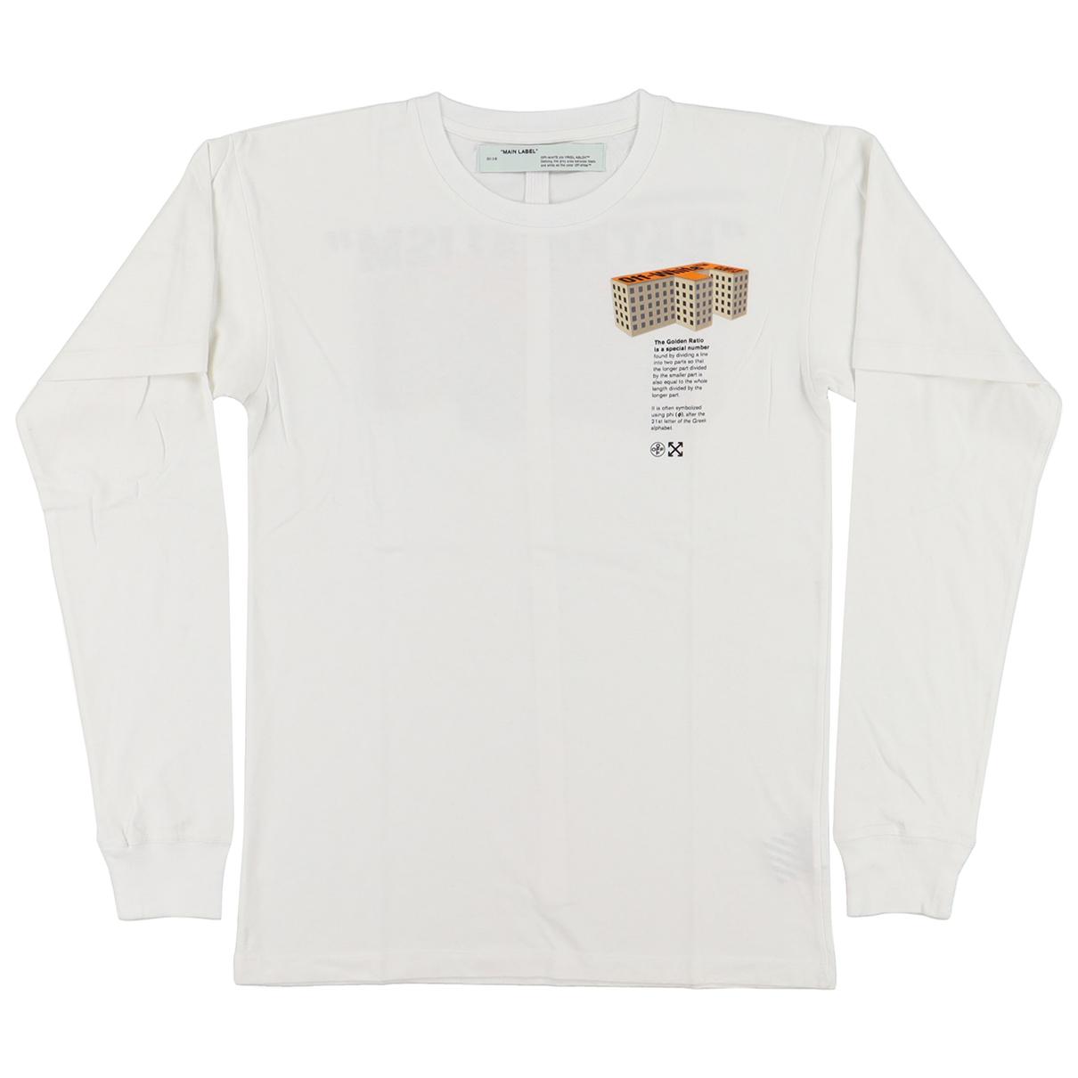 Off-white - Tee shirts   pour homme en coton - blanc
