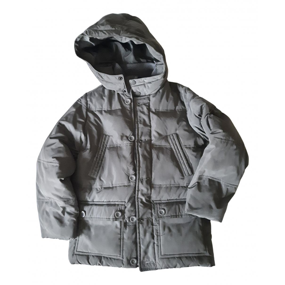 Benetton - Blousons.Manteaux   pour enfant - anthracite