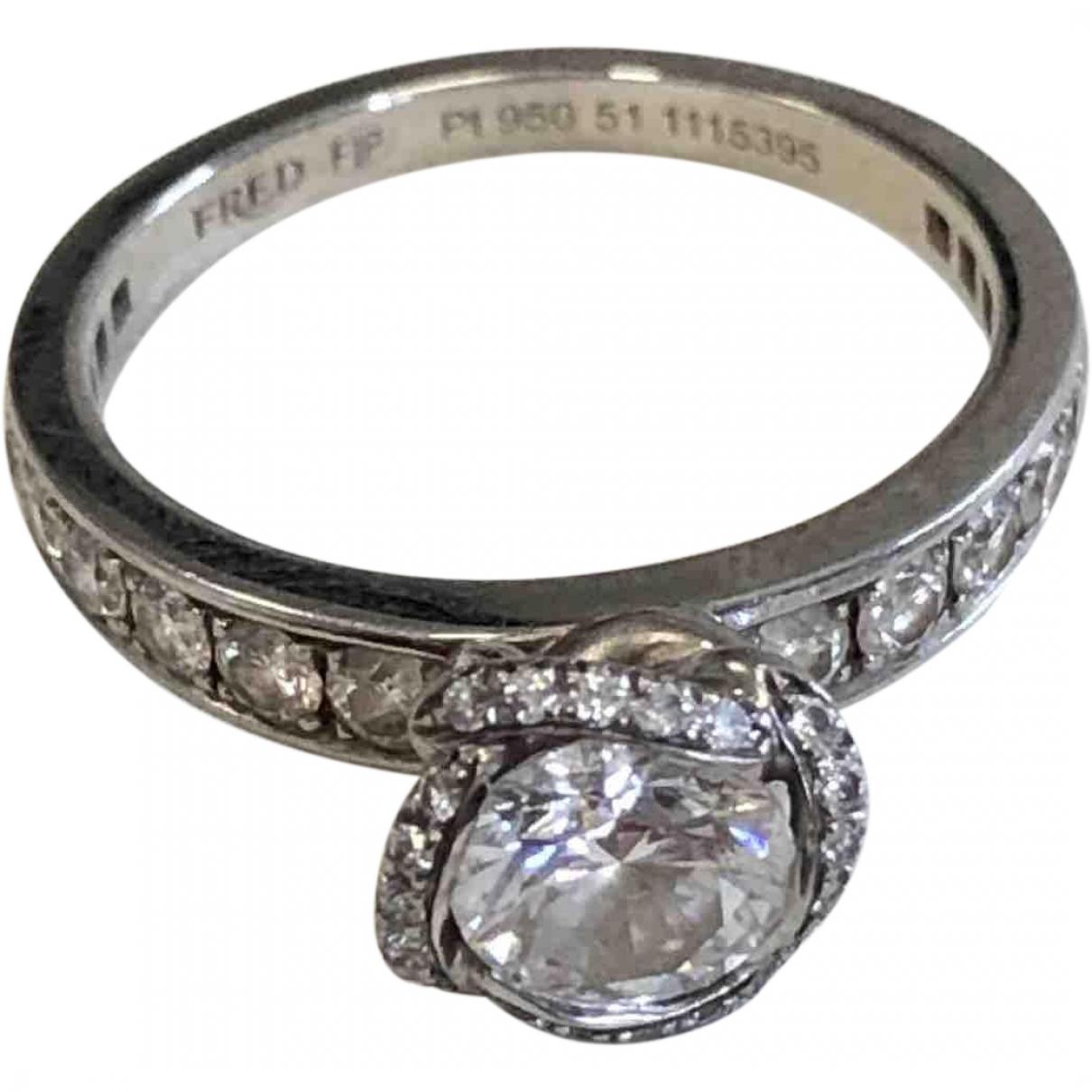 Fred \N Platinum ring for Women \N