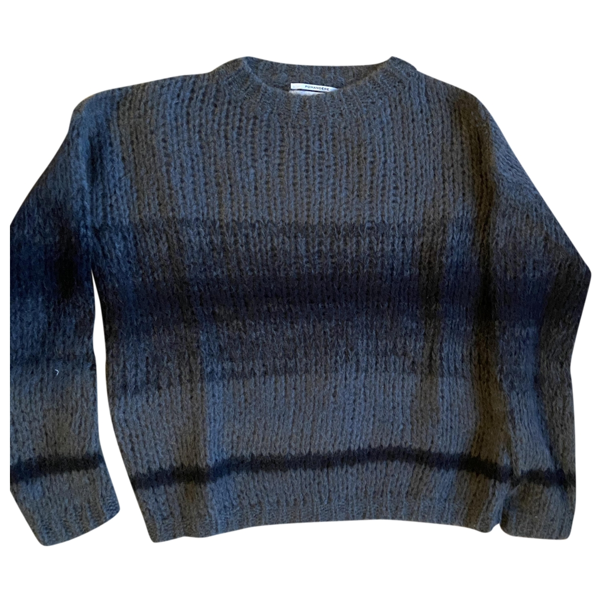 Pomandere \N Pullover in  Grau Wolle