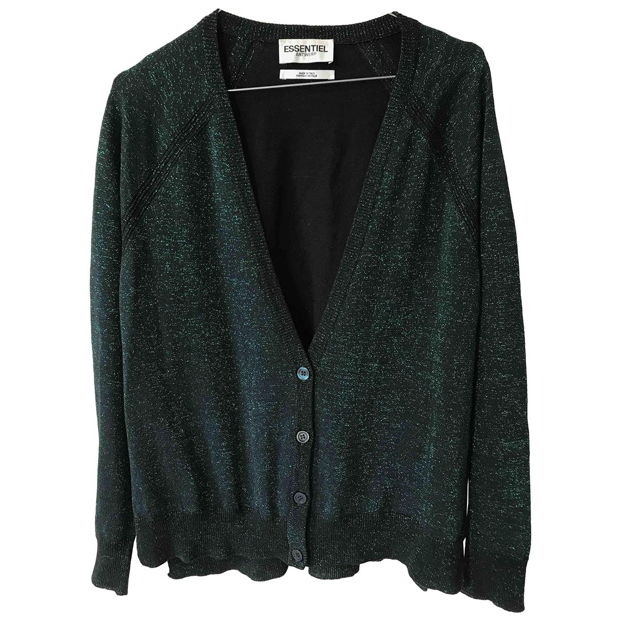 Essentiel Antwerp \N Green Wool Knitwear for Women 38 FR