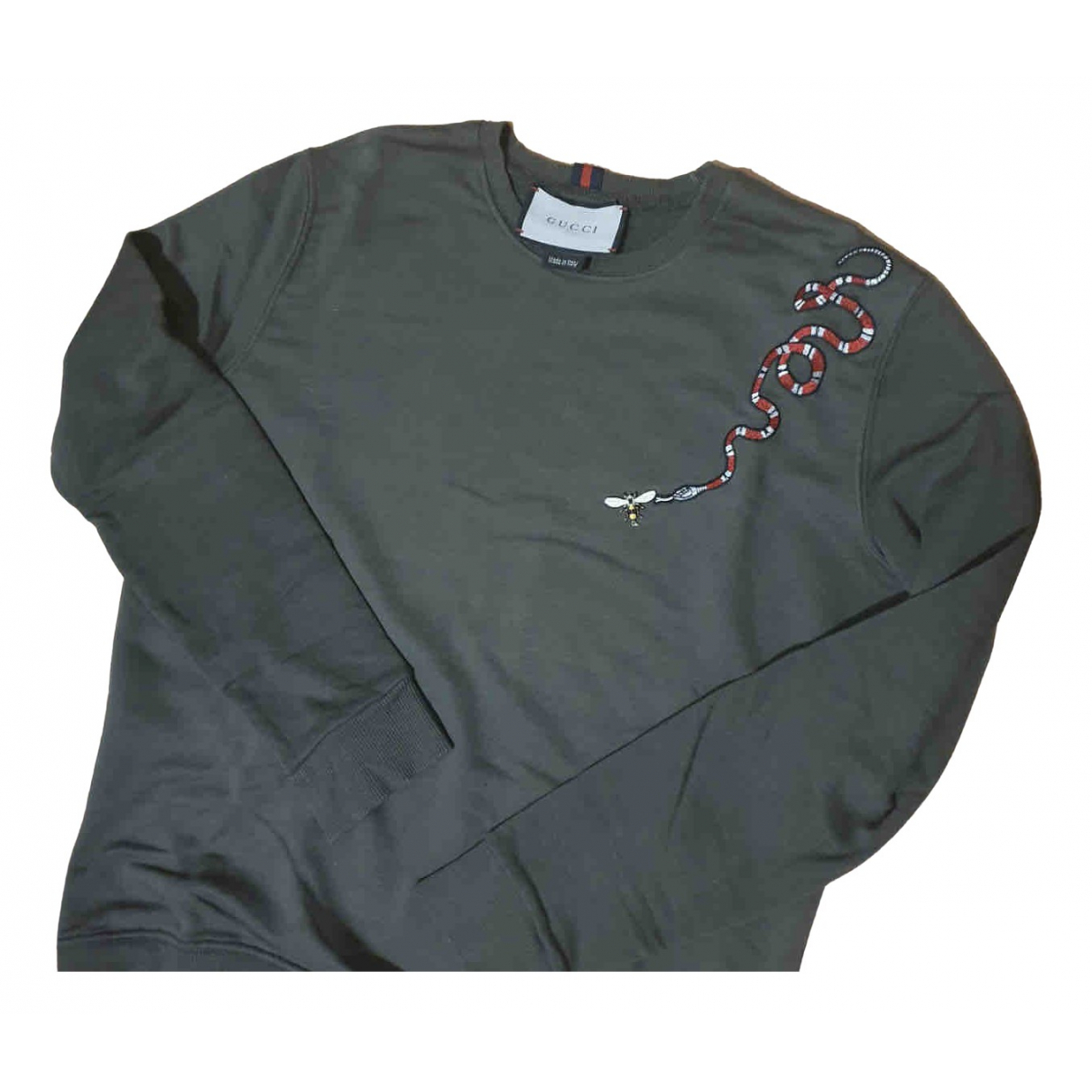 Gucci N Green Cotton Knitwear & Sweatshirts for Men S International