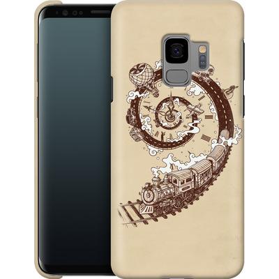 Samsung Galaxy S9 Smartphone Huelle - Time Travel von Enkel Dika