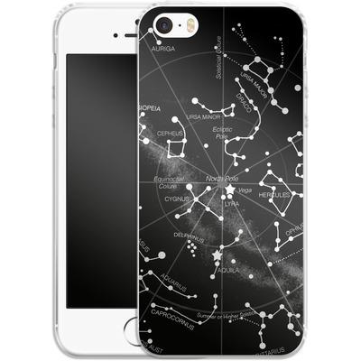 Apple iPhone SE Silikon Handyhuelle - Constellations von Terry Fan