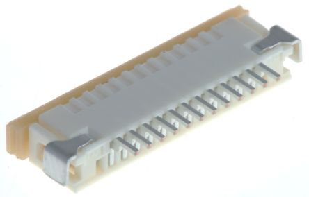 Molex Easy-On 52207 Series 1mm Pitch 12 Way Right Angle SMT Female FPC Connector, ZIF Top Contact (10)