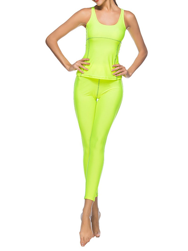 Ericdress Polyester Breathable Pullover Sleeveless Clothing Sets