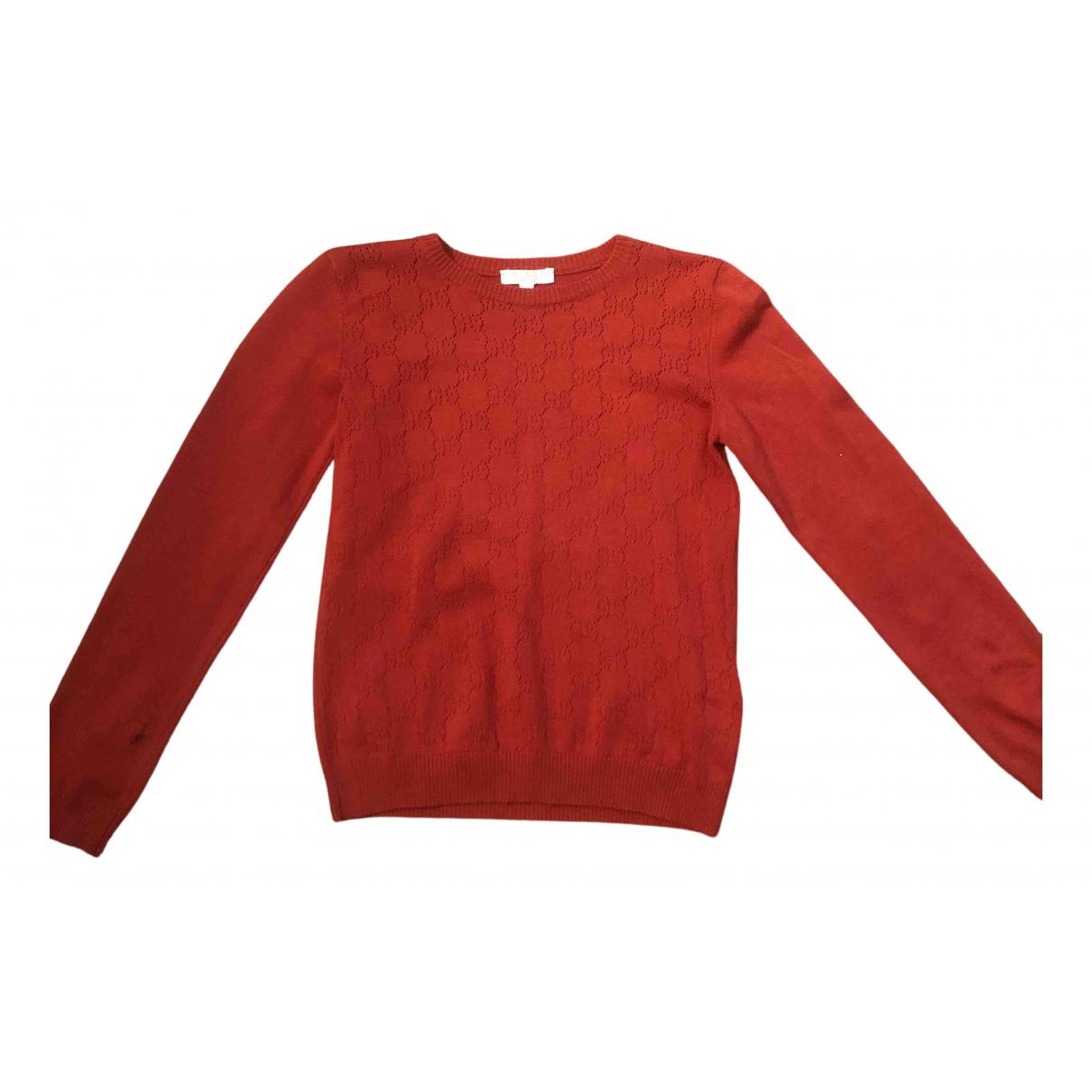 Gucci - Pull   pour enfant en soie - rouge