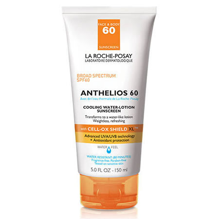 La Roche-Posay ANTHELIOS COOLING WATER-LOTION SUNSCREEN SPF 60 (150 ml / 5 fl oz)