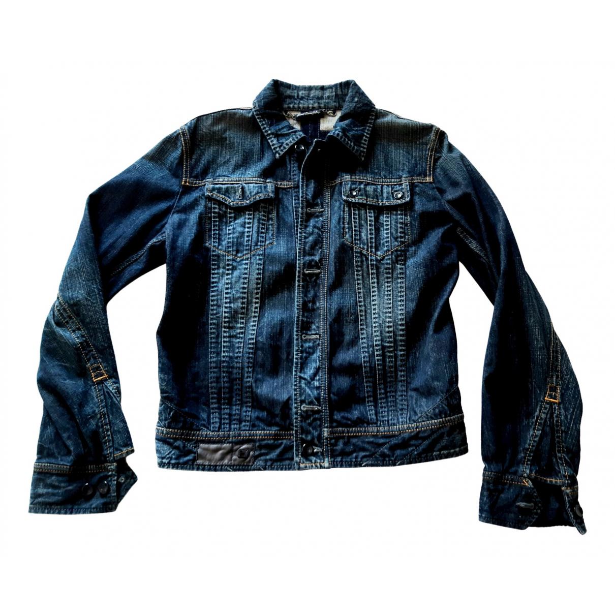 Diesel \N Blue Denim - Jeans jacket  for Men M International